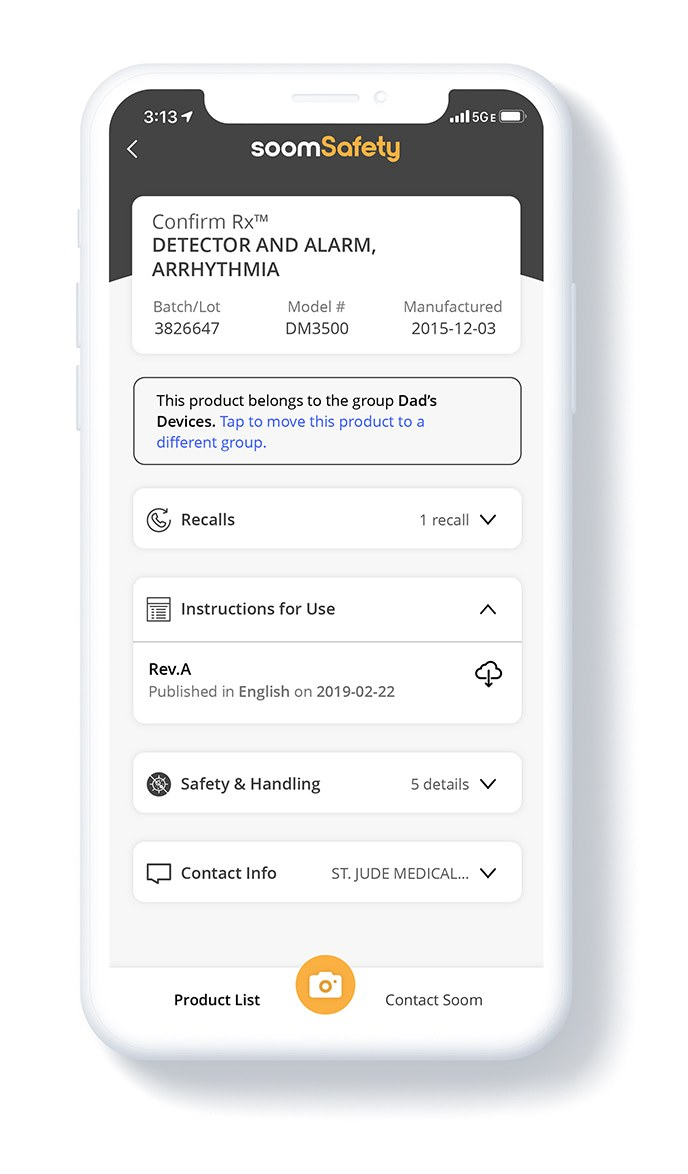 Soomsafety app 3